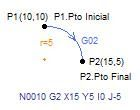 Funciones G02 y G03