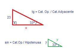Triángulos rectángulos