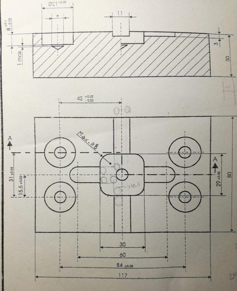 Mecanizado de cajeras