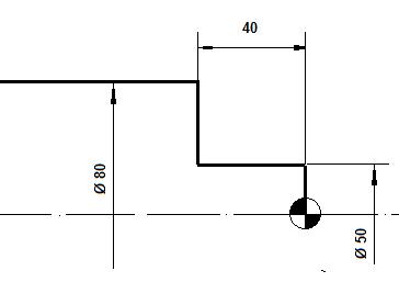 CYCLE95 Ciclo fijo de desbastado