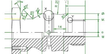 mecanizados de encastes con G02 y G03