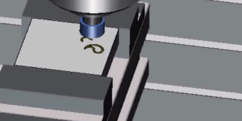 Mecanizado de matriz circular de figuras