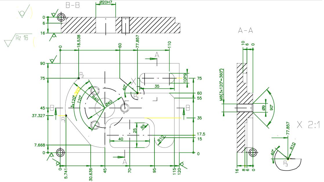 Mecanizado placa AP6